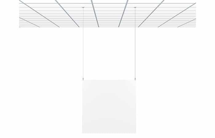 ophangsysteem artiteq systeemplafond kuchscherm hoestscherm preventiescherm