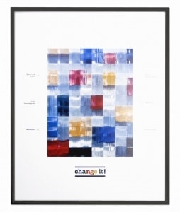 Change-it wissellijst, fotolijst, zwart