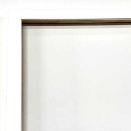 wit lijst, borduurwerk diamond painting inlijsten online